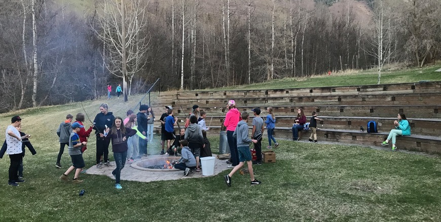 6th Grade Camp Fire Pit